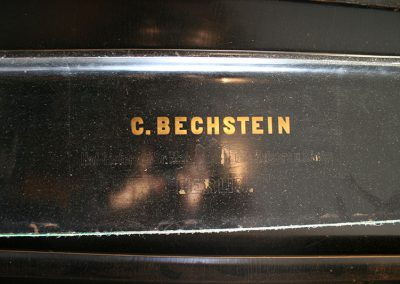 Bechstein Grand before restoration
