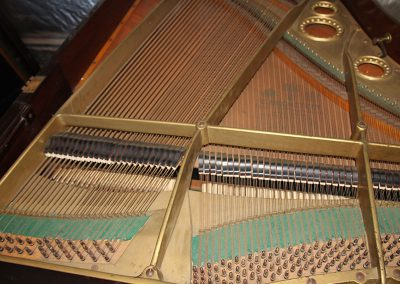 Bechstein Model A before restoration