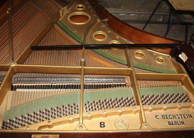 Bechstein Model B before restoration