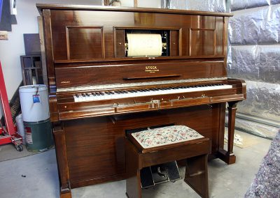 Steck Pianola after restoration